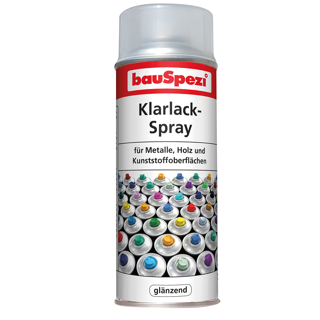 bauSpezi Klarlack-Spray