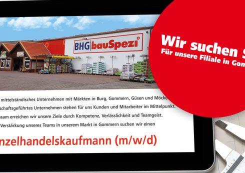 Stellenanzeige Einzelhandelskaufmann (m/w/d) in Gommern